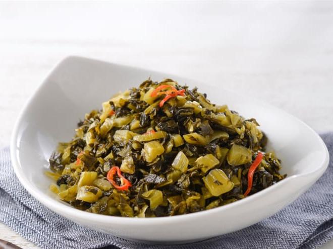 Beef Noodles-Suan Cai